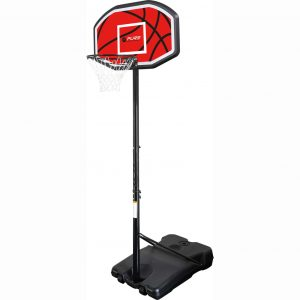 Pure2Improve transportabel basketballstander 110 x 71 cm